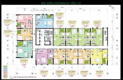 Thanh lý Penhouse giá rẻ Eco Green giá chỉ 3,4 tỷ