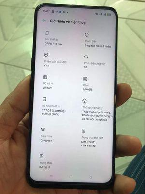 Bán điện thoại Oppo f11