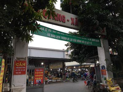 Bán ki ốt mặt chợ và đường - chợ Quang, Thanh Liệt