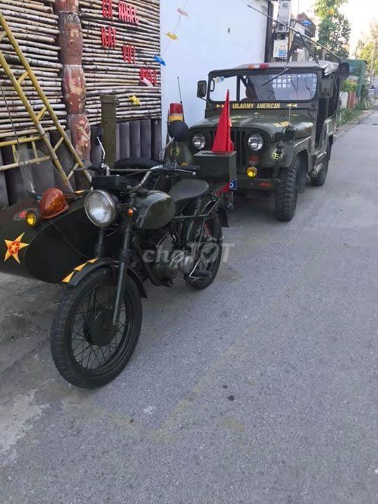Cho thuê xe rước dâu bằng xe jeep ( xe thời chiến