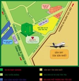 Chung cư Ruby Garden 70m² 2PN, 2.35 tỷ, có sổ hồng