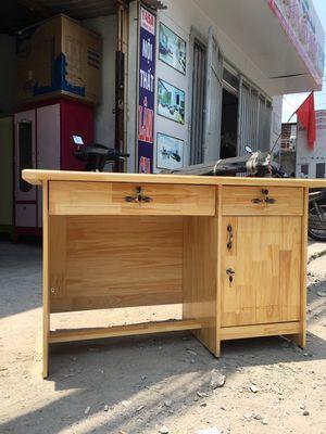 0917666337 - Bàn làm việc gỗ tự nhiên giá tại xưởng HCM