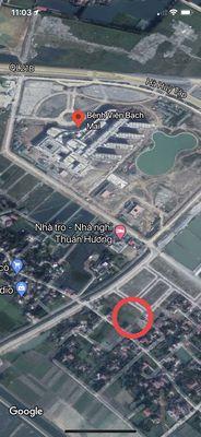 Đất Thành Đạt ngay sau bệnh viện Bạch Mai
