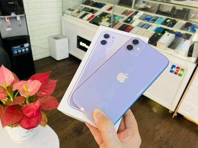 ⚡️👉🏿 Apple 11 256 Q.Tế Tím mộng mơ Fullbox zin