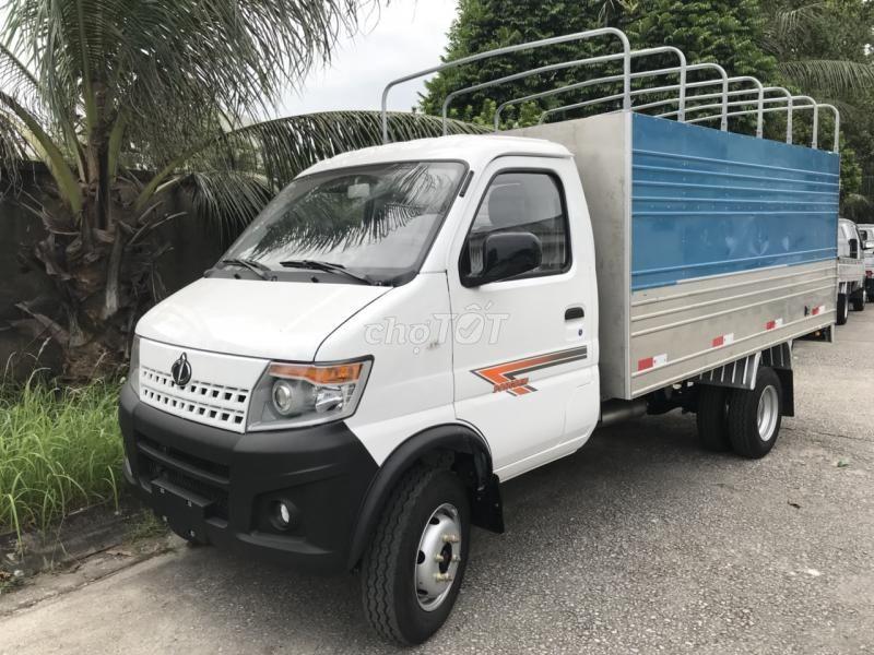 xe Dongben 1.9 tấn+Vay cao+ máy lạnh + Thùng 3m3