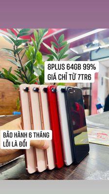 Apple iPhone 8 plus Vàng hồng giá chỉ từ 7600000 !
