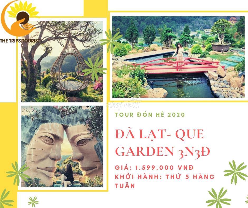 Tour Đà Lạt Que_Garden 3N3Đ