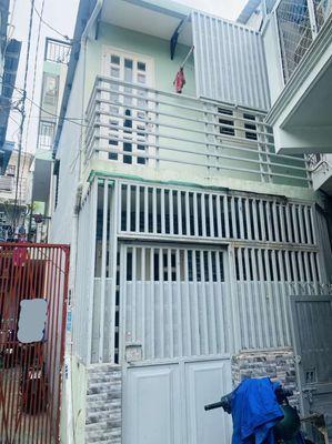 Nhà Chu Văn An, 27m2, 2PN; Hẻm 3M, Cách MT 30m