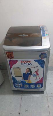 Máy giặt 9,04kg Sanyo zin đẹp bảo hành 6 tháng
