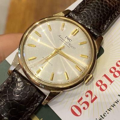 Đồng Hồ Cơ Nam vintage vàng khối 18k