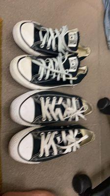 Giày Converse Classic đen chính hãng Size 37.5 40
