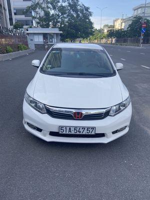 Civic 1.8AT đời 2013 màu trắng ngay chủ ban giá TL