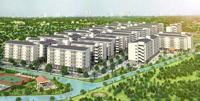 Căn hộ Ehome 4 DT 40,3m2 Block C mới xây, 920tr
