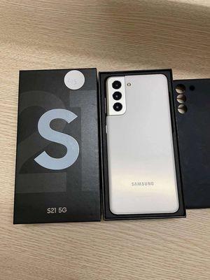 Samsung S21 5G, 128G mới mua hôm 29 tết tại TGDĐ