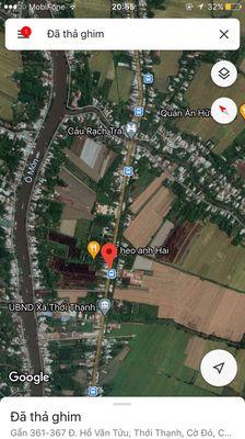 Đất mặt tiền 922 gần bến xe ômôn cần thơ 400m2
