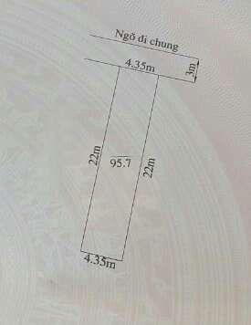 Bán lô đất 95,7 m2 gần TT hành chính P. Tràng Cát