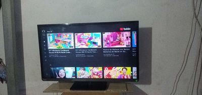 Tivi tosiba 40in có internet mạng lan xem YouTube