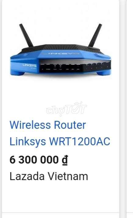 0379682769 - Wireless router Linksys WRT 1200 Ac