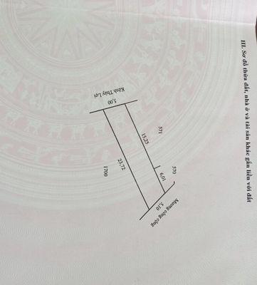 Cần bán đất nền sổ đỏ thành phố Sa Đéc 109m²