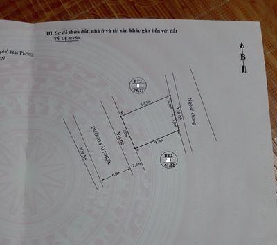 Bán lô đất 69m2 ngang 7 TĐC Hồ Đá, Sở Dầu giá 2,3