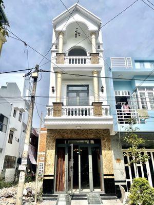 Bán nhà 2 lầu mặt tiền đường Ngô Tất Tố , KDC 91B