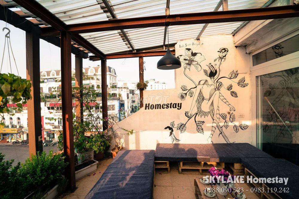 Tầng 5 - 112 Cầu Gỗ làm quán cafe