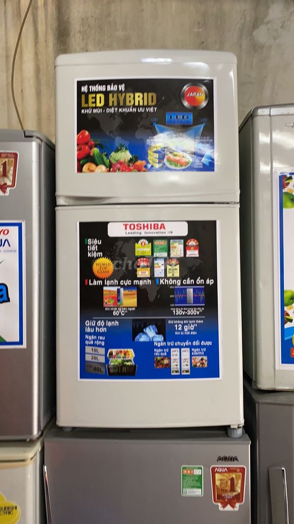 0969421092 - Toshiba 100 lít, k đông tuyết, máy móc nguyên bản
