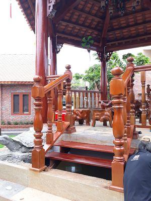 Bán nhà gỗ lục giác cổ lầu như hình
