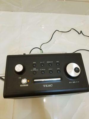 Loa Teac kết nối Aux dành cho điện thoại.
