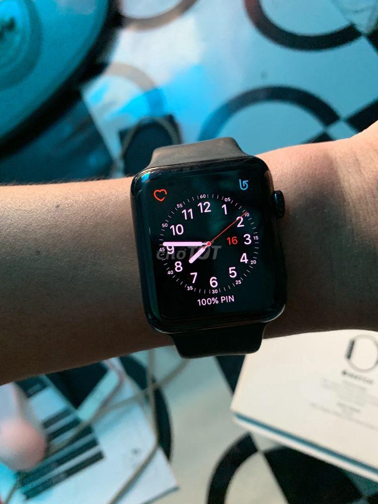 Apple watch seri 1 thép zin all. Full box
