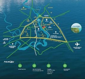 Nhà phố Aqua City 97.5m²