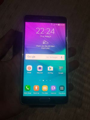Note 4 N910 Thủ dầu một