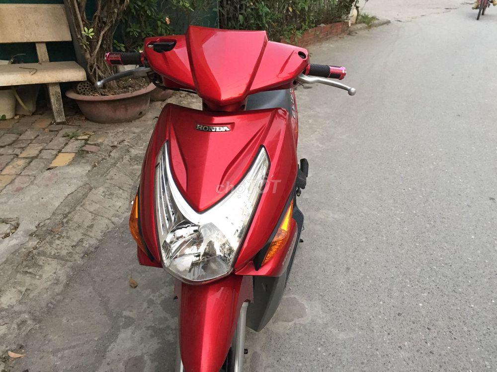 Honda Click màu đỏ nguyên bản đi ít mua 2012