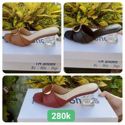Giày Sandal cao gót TH Shoes Cực Đẹp - THD-01