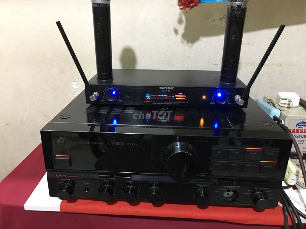 Amply Sansui 607L Extra