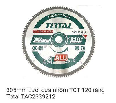💥 Lưỡi cắt nhôm 305MM TOTAL 120 răng