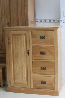 tủ quần áo em bé bằng gỗ sồi Mỹ