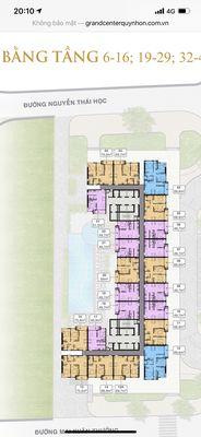 Thu vốn Chung cư Grand Center Quy Nhơn 69m² 2 PN