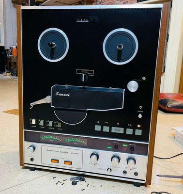 Bán đầu băng cối sansui SD7000 chạy băng 7-4track
