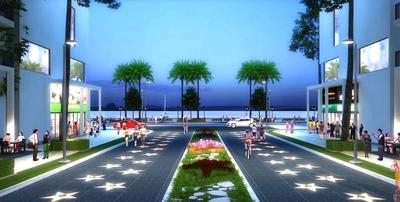 Đất nền MARINE CITY, ba mặt tiền biển, đường 12m