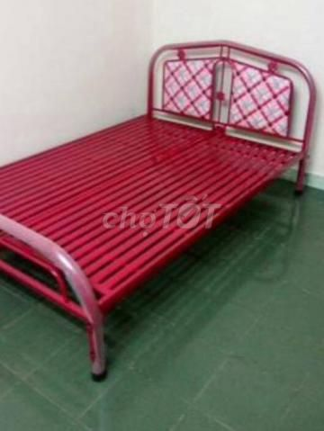 giường sắt sơn tĩnh điện NEW