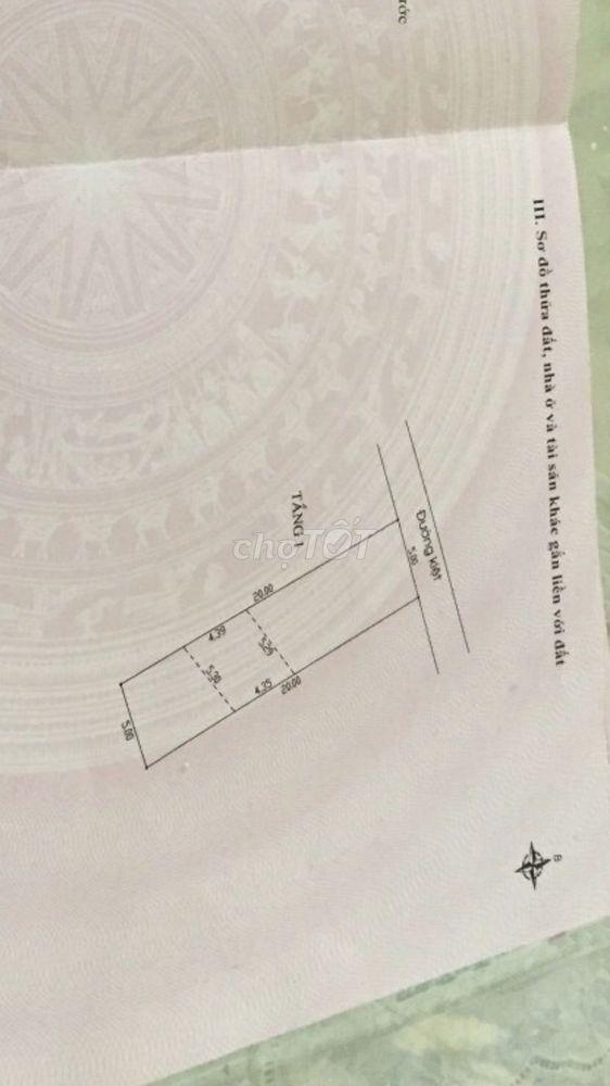 Đất 100m kiệt oto 4,5m Nguyễn Như Hạnh,sau nhà MT