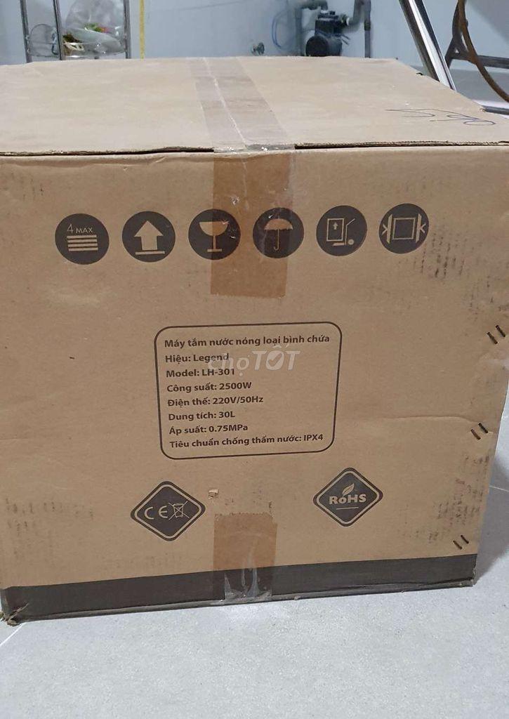 0916114320 - Máy tắm nước nóng Legend mới nguyên hộp 100%