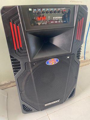 Cần bán loa kéo karaoke Ronamax còn mới 99%bass 40