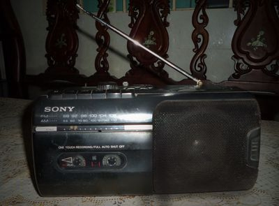 Bán radio cassette cổ sony cfm-10