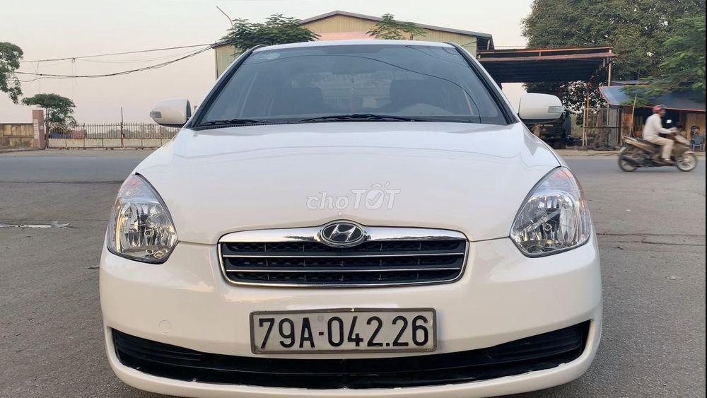 Hyundai Verna 2008 Số sàn nhập khẩu