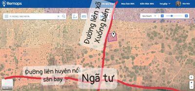 Lô đất cách liên huyện 1,8m. Giá 494 triệu