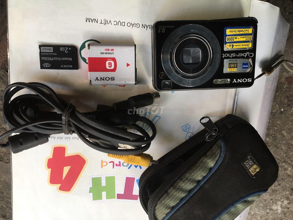Máy ảnh Sony dsc-w130 nguyên bản xài tốt