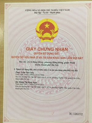 Officetel Quận Hoàn Kiếm 108m² 3PN
