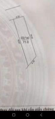 Bán đất 71 m2 Mai Lâm